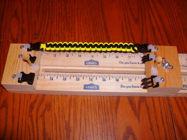 23 Homemade Paracord Bracelet Jig 3 Buckles 2 Posts W Shackle