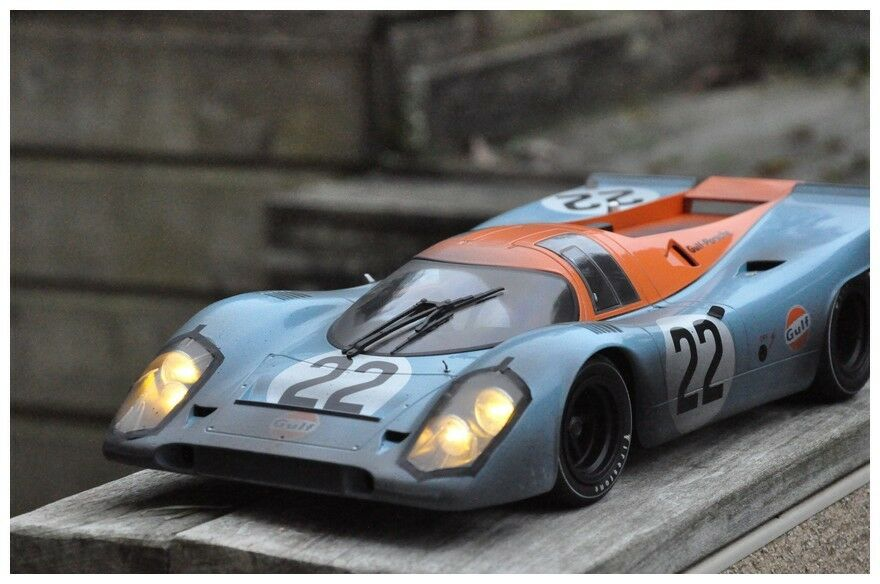Codex driver finish line 1 12 porsche 917k le mans 71 night version