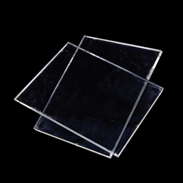"Rod 1//4/"" Plexiglass Clear Round Perspex Acrylic Plastic 8/"" Long High Quality"