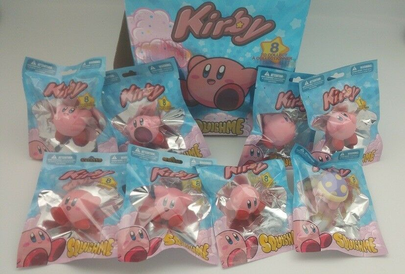 Kirby Squishme Scented Stress Ball Figure Rare Fast Shipping Limited Smash Bros