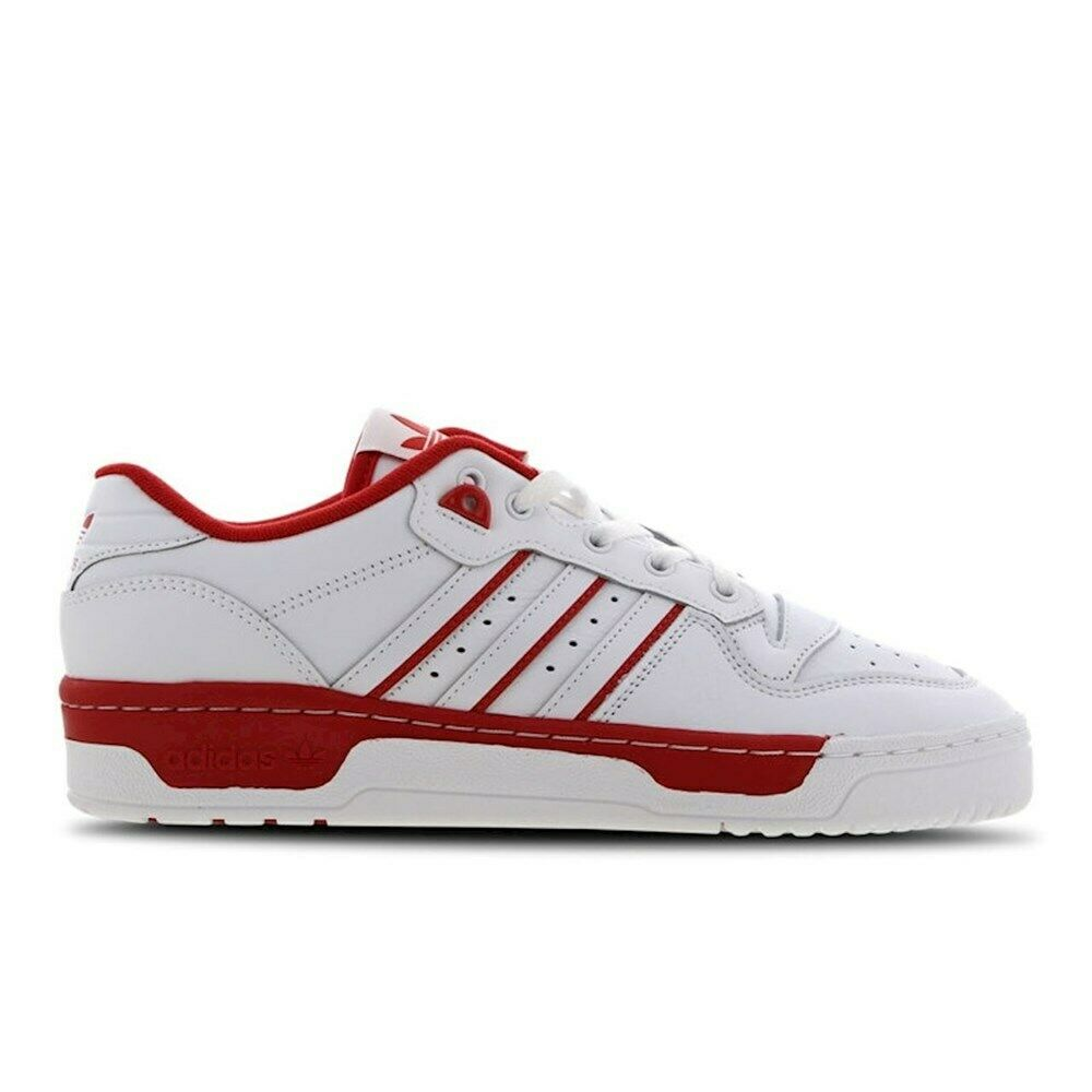 Shoes Universal Men Adidas Rivalry Low EE4658 White,Red