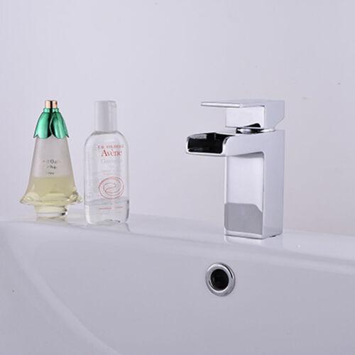 Kitchen Sink Faucet Deck Mount Single Hole Mixer Tap Bathroom Sink Basin Faucet