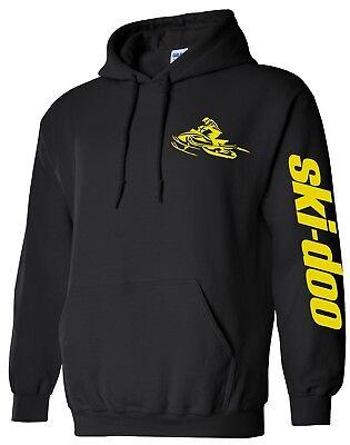 BRAAAP Hoodie Sweatshirt Ski-Doo Arctic Cat Polaris Yamaha yellow sled To 5X!