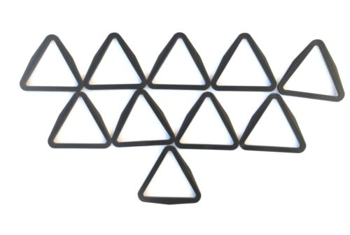 25mm,40mm,50mm Black Plastic Triangles For Webbings,Straps x5,x10,x25,x50,x100