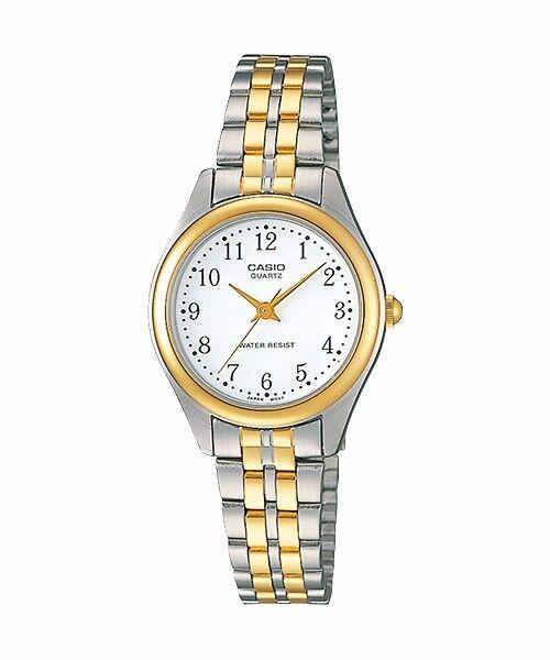 LTP-1129G-7B Casio Gold tone Stainless Steel Watch Ladies Water Resistant
