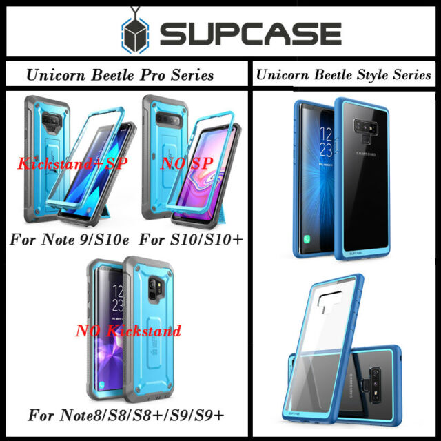 best loved e5d89 5dce9 Samsung Galaxy Note 9 Case SUPCASE Full-body Holster Unicorn Beetle Cover  Blue