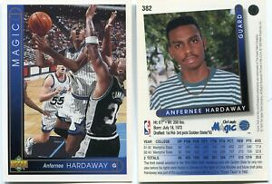 "2X -Anfernee Hardaway 1993/94 Upper Deck Big Jumbo 3""X5"" RC 308 Oversized Rookie"