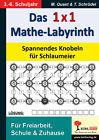 Das 1x1-Mathe-Labyrinth von Mirko Mieland (2013, Taschenbuch)