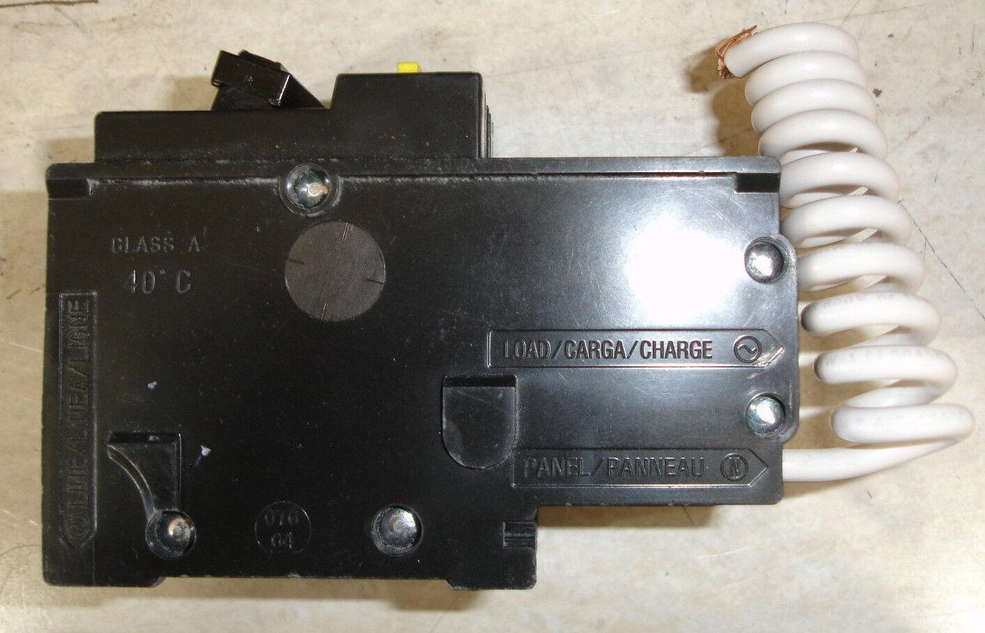 Square D Hom215gfi Miniature Circuit Breaker Ebay Breakers Load Centers Fuses