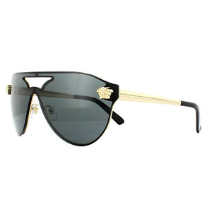 e09a79816b Image is loading Versace-Sunglasses-VE2161-100287-Gold-Black-Grey