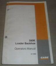 Case 580k Tractor Loader Backhoe Operator Operation Amp Maintenance Book Manual