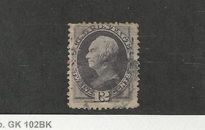 Aggressiv Vereinigte Staaten, Briefmarke, #162 Gebraucht, 1873