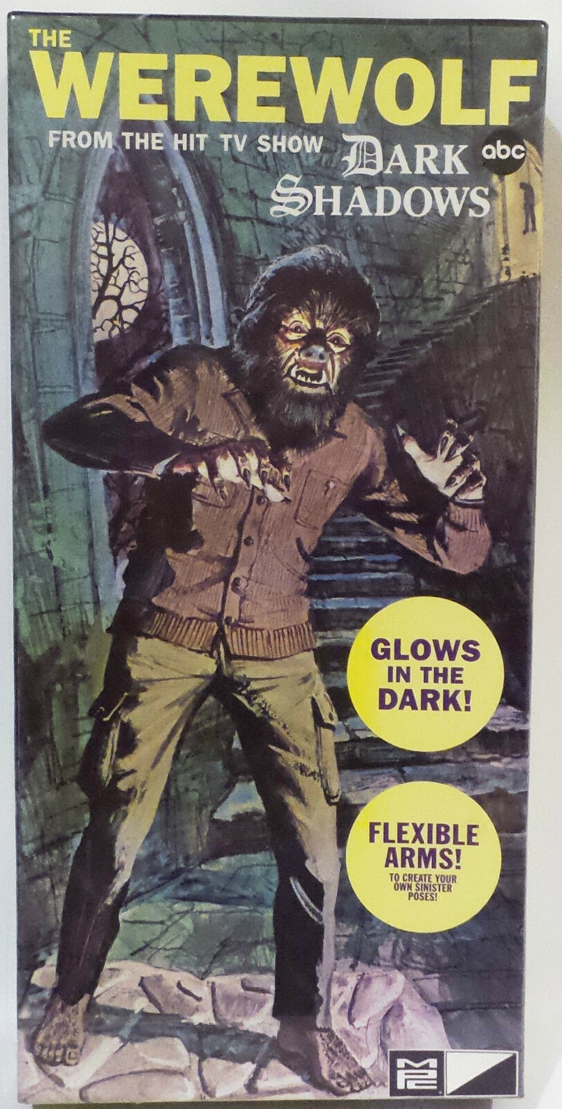 HORROR   THE WEREWOLF PLASTIC MODEL KIT MADE IN 2011. FROM THE SHOW DARK SHADOWS