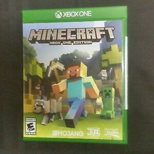 Details about Replacement Case (NO GAME) MINECRAFT XBOX ONE EDITION XBOX  ONE 1