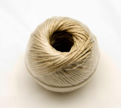 "1 Pound Ball 1//8/"" Hemp Twine 250 ft.,Tie Down Springs Polished"