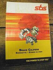 catalogue  SBS - étriers de freins - brake calipers - Bremssättel