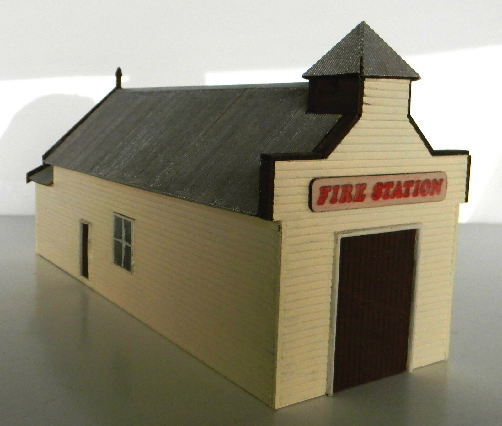 HU - skalenlig byggnad (BUILT) Victoriansk brandstation