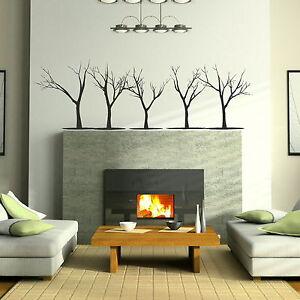 Hair-Girl-Tree-Wall-Sticker-Stylish-Art-Decor-Large-Tree-Wall-Transfers-X73