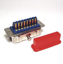 16-poliger Amphenol-Stecker für Meßgeräte und Funktechnik, mit Riegel-Kragen