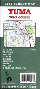 Street Map Of Yuma Arizona.Details About City Street Map Of Yuma Yuma County Arizona By Gmj Maps