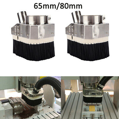 Blue+Beige 105mm H HILABEE Spindle Dust Shoe Cover Cleaner for CNC Engraving Milling Machine