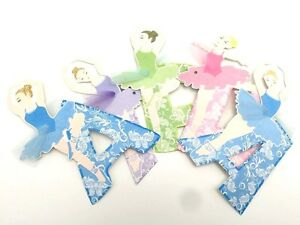 3-6M-Happy-Birthday-Party-Bunting-Garland-Flag-Decoration-Banner-Girl-Ballerinas