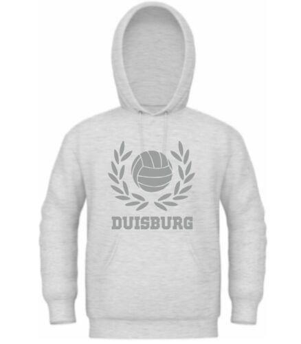T-Shirt Kapuzensweat Trikot Hoodie Duisburg für Ultras Ultra Fan Jacke