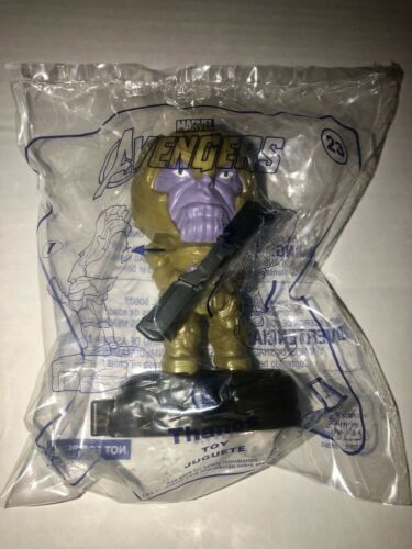 Rare 2019 McDonald's Avengers Marvel Happy Meal Toys #23 Thanos