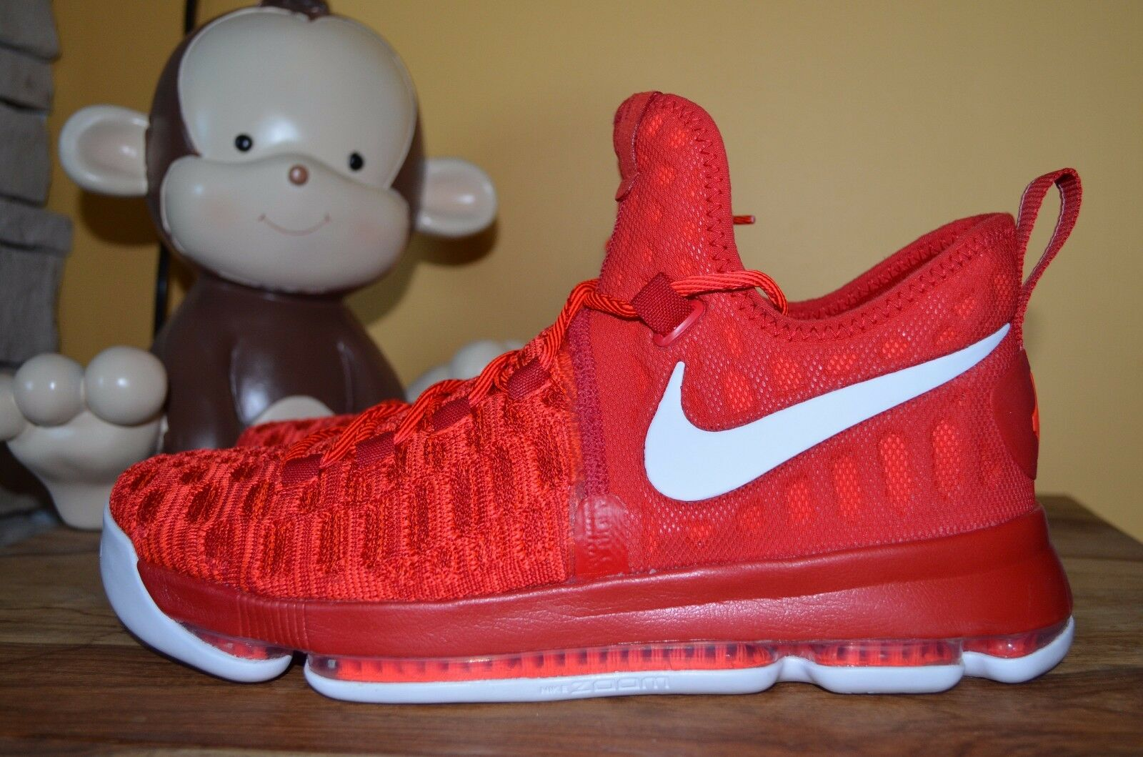 Nuove nike zoom kd 9 razzi kevin durant durant kevin 10 universit rosso / bianco 843392-611 11,5 1e9fe6