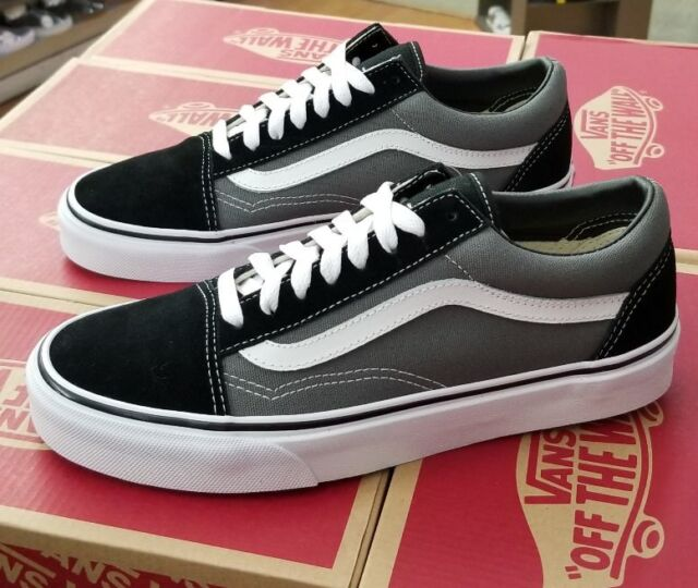 078a3898e04a44 VANS Classic Old Skool Skate Black Pewter Mens 9 UK 8 for sale ...