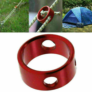 10pcs Aluminum Tent Awning Cord Rope Fastener Guy Line Runners Tensioners ~ M8V3
