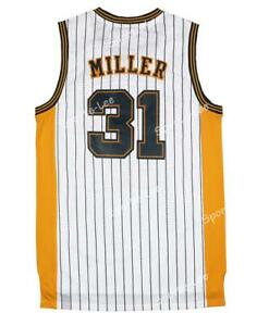 Retro Reggie Miller #31 Indiana Pacers Swingman Basketball Jersey Stitched
