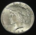 1923 S Silver Peace Dollar BU