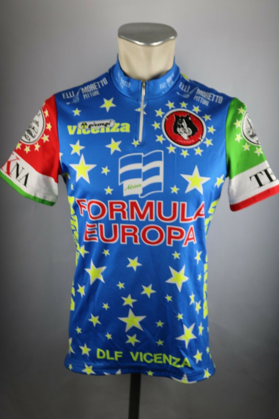 Formula Europa Giessegi vicenza Radtrikot Gr. 4 M 50cm cycling jersey Shirt F4