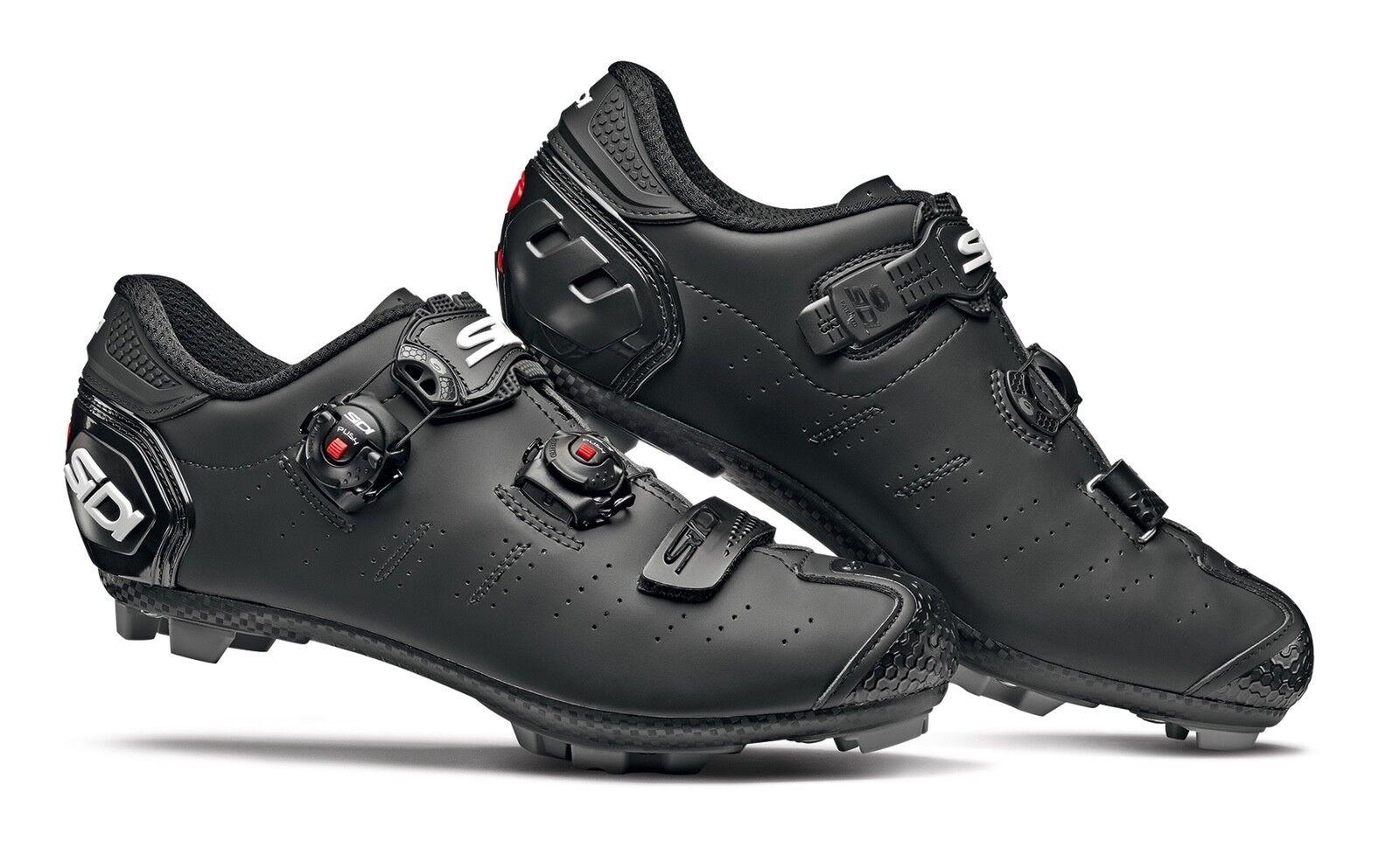 Schuhe SIDI MTB DRAGON 5 SRS MATT taglia 45 colore NERO OPACO