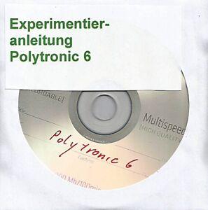 "02 048 DDR Experimentierkasten Polytronic Elektronik 5 ""Anleitung Teil 1+2 Kpl. DDR Spielzeug"