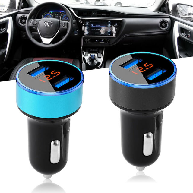 USB Dual Port Fast Car Charger 120W Quick Charge 3.1 for Apple iPhone X Samsung