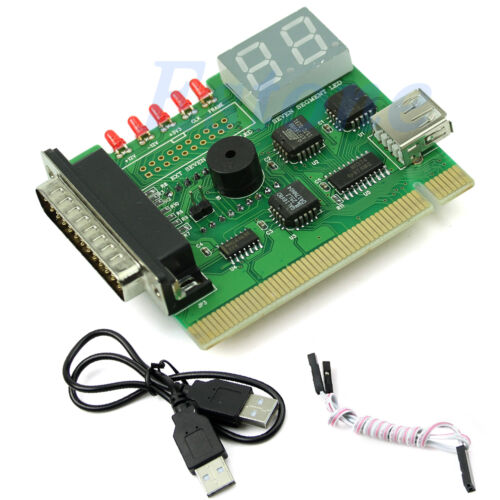 USB PCI PC Notebook Laptop Analyzer Motherboard Diagnostic POST Card New