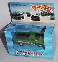 Hot Wheels Jc Whitney 1998 Release 18672 Ford F-150 Green W/ Real Riders