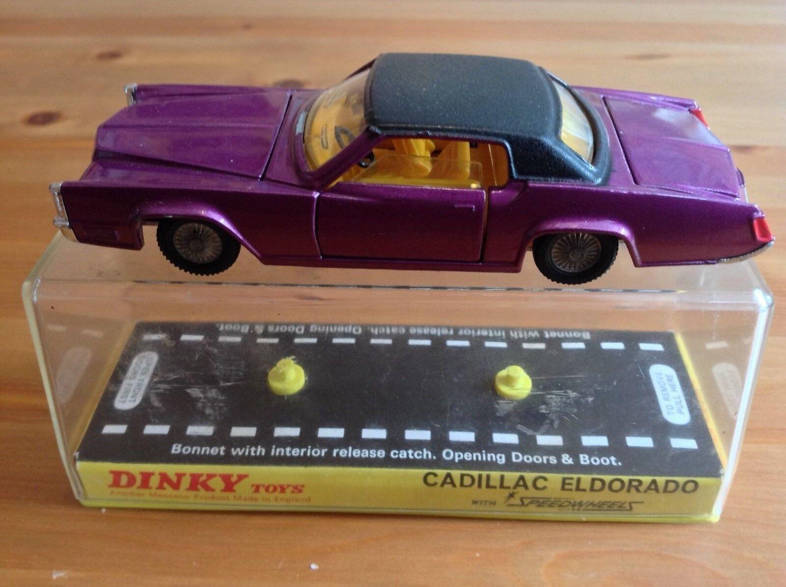 DINKY 175 CADILLAC ELDORADO ORIGINAL AND BOXED