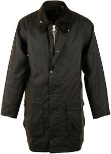 BARBOUR-CLASSIC-la-NORTHUMBRIA-Cerata-in-Oliva