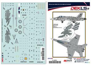 1/48 F/A-18 Hornet - RAAF 3 SQN A21-3 Decal DEKL's II