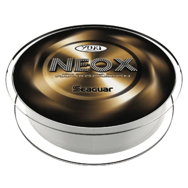 Seaguar Yuki Neox Fluorocarbon-Angelschnur 0,185mm 3,6kg 7,9lb 50m NEU