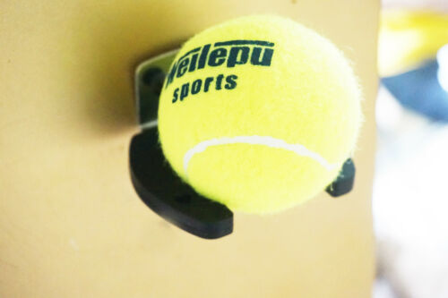 One Vertical Tennis// Baseball Bat Softball Racket Wall Mount Holder Rack Display