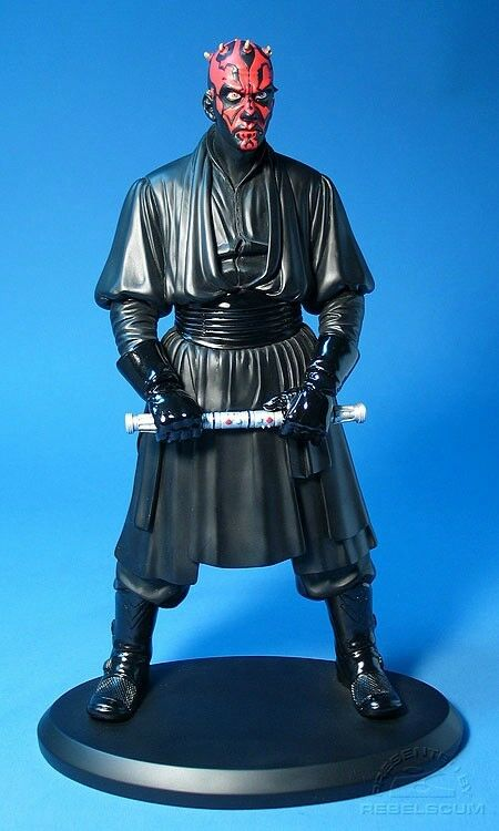 DARTH MAUL 16'' Scaled Statue from Attakus Bombyx    Luke Skywalker, Leia, Vader
