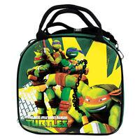 New Teenage Mutant Ninja Turtles Green School Lunch Box Bag & Water Bottle