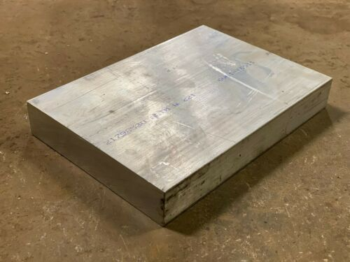 "1.25 /"" x 6/"" x 8.625/"" Long 6061 Aluminum Plate Plate Flat Bar"