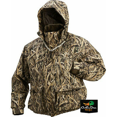 DRAKE WATERFOWL MST STRATA SYSTEMS COAT JACKET SHADOW GRASS BLADES CAMO XL