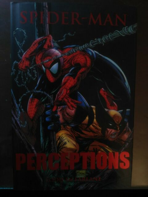 SPIDER-MAN: PERCEPTIONS By Todd Mcfarlane - Hardcover MARVEL