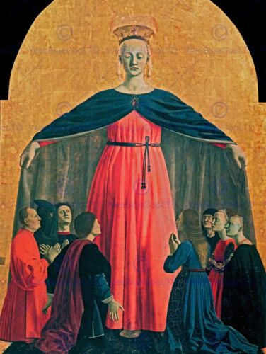 PIERO DELLA FRANCESCA THE MADONNA OF MERCY OLD MASTER ART PAINTING PRINT 2369OM